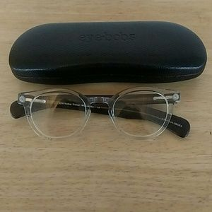 Eye Bobs Accessories - eye bobs - Clear and Black Readers +1.5
